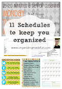 11 Schedules to keep your organized