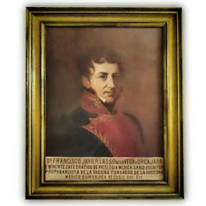 Retrato del Dr. D. Francisco Javier Laso
