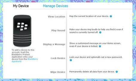 Cara Melacak Lokasi Blackberry Yang Hilang Didno