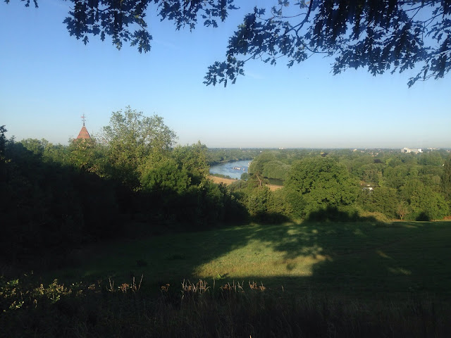 View over the River Thames from Richmond Hill