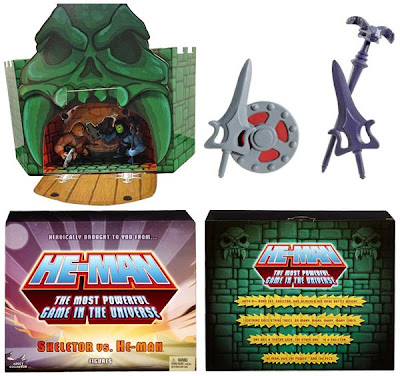 San Diego Comic-Con 2013 Exclusive Masters of the Universe Mini He-Man & Skeletor 2 Pack Packaging & Accessories by Mattel
