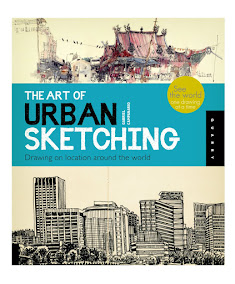 Featured in The Art of Urban Sketching...
