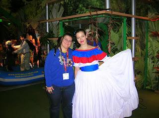 Stand de Costa Rica, Fitur, Feria intenacional de turismo, Madrid, La vuelta al mundo de Asun y Ricardo, round the world, mundoporlibre.com