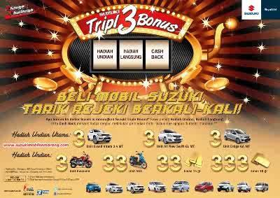 mobil suzuki triple bonus