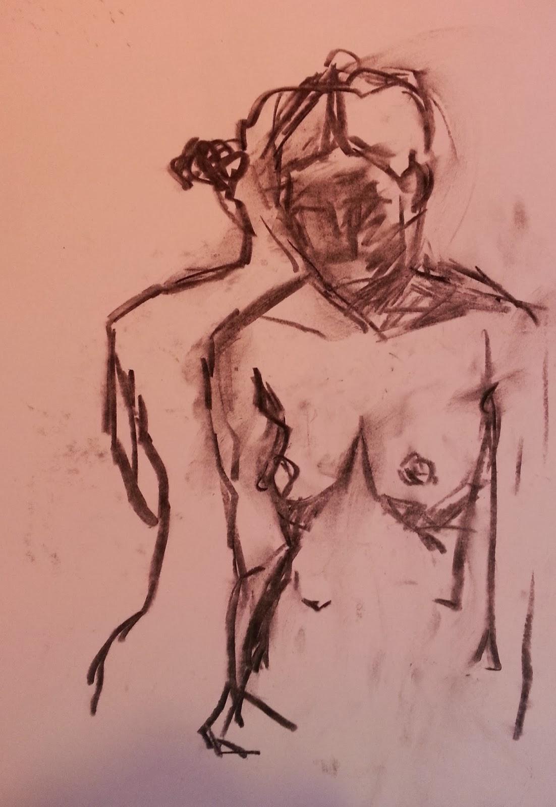 Mark Lawton-Browne, Figure Drawing
