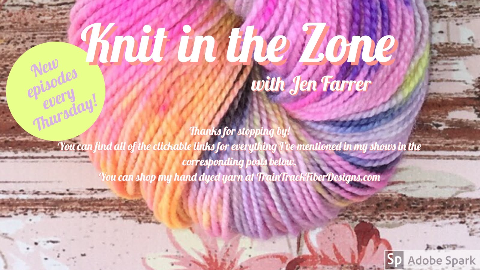 Knit in the Zone - with Jen Farrer