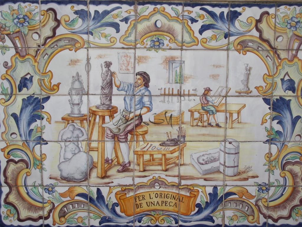 C mo disfrutar de tu jubilaci n azulejos en manises - Azulejos de ceramica ...