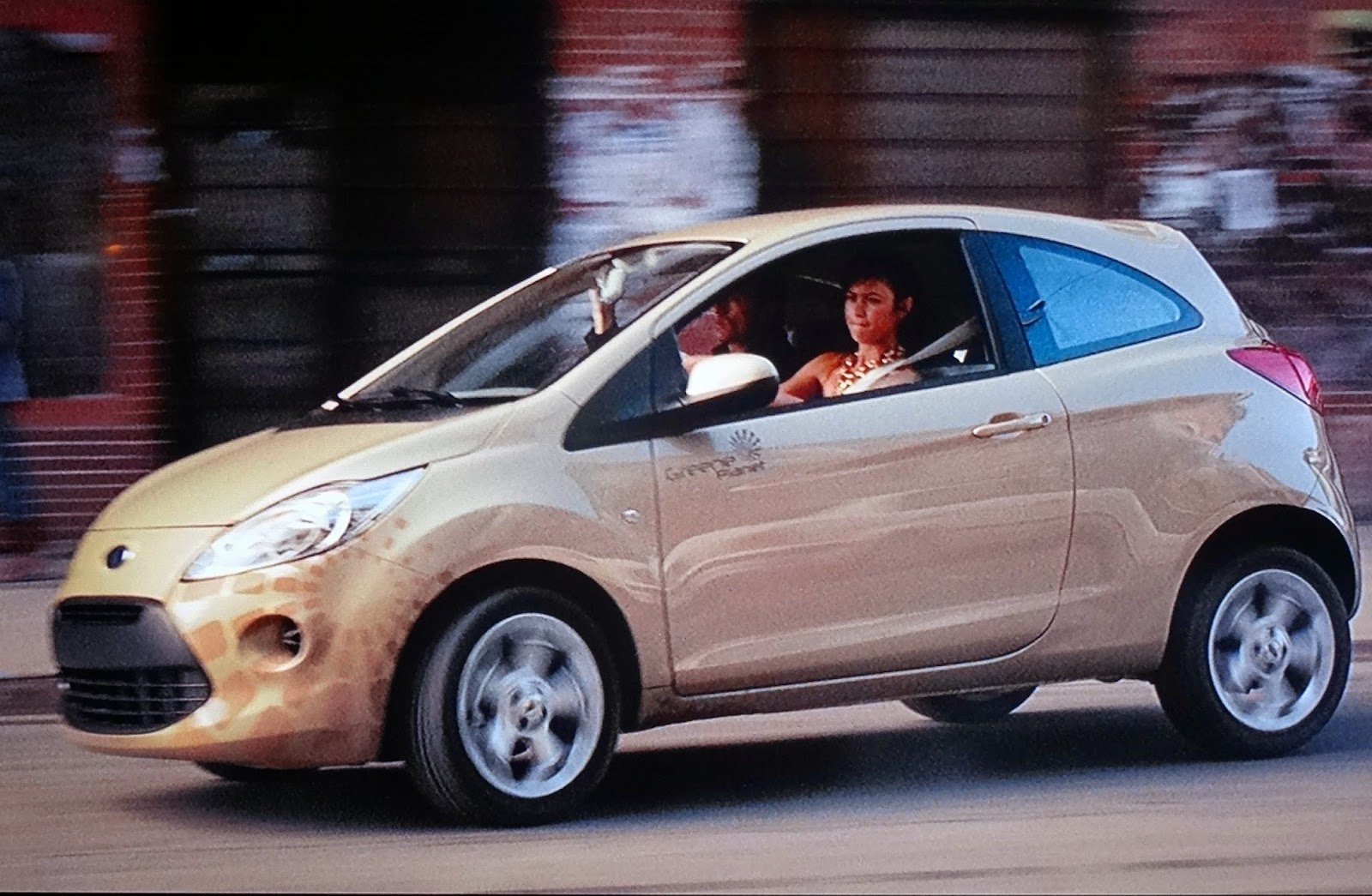 007 TRAVELERS: 007 Vehicle: Ford Ka / Quantum of Solace (2008)