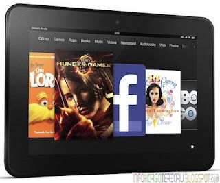 Harga Amazon Kindle Fire HD 7 Inch Tablet Terbaru 2012