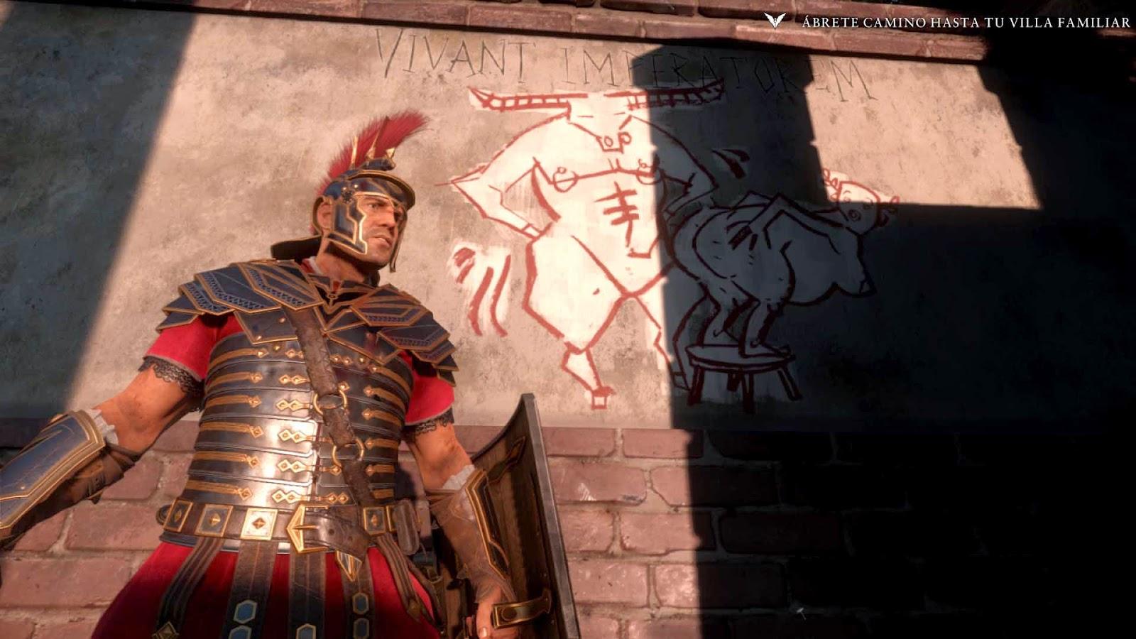 ryse son of rome pintada pared