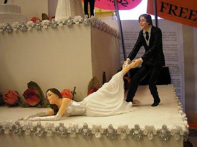 take a look through my eyes groom dragging bride