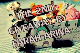 THE 2ND GIVEAWAY by FARAH ARINA