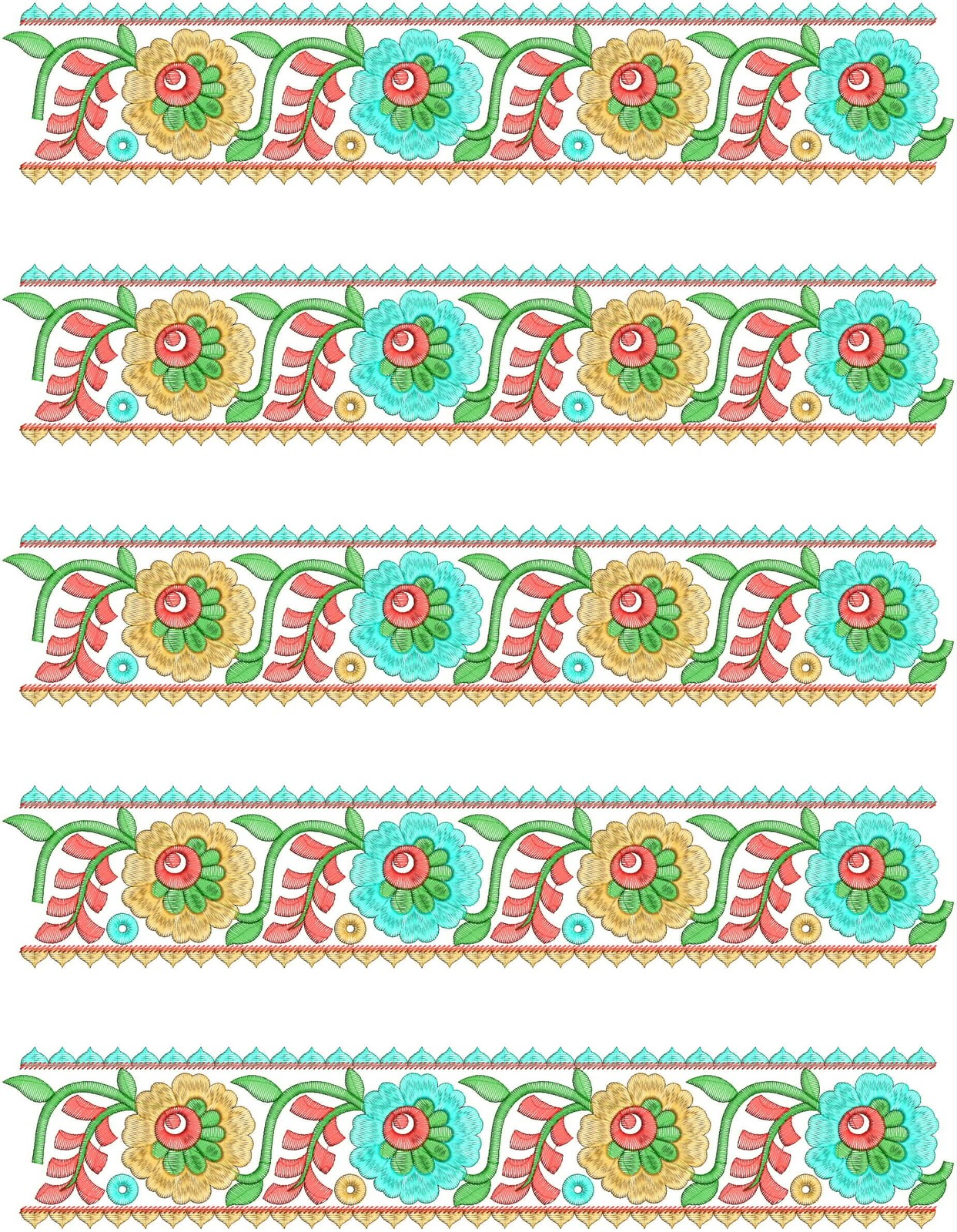 embroidery design mix collection butta style free embroidery designs