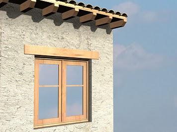 Pimugs04 2 elementos de una puerta - Dintel de madera ...