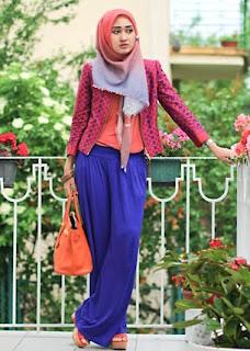 beauty Hijab style 2012 Contoh Gambar Jilbab Hijab Modern