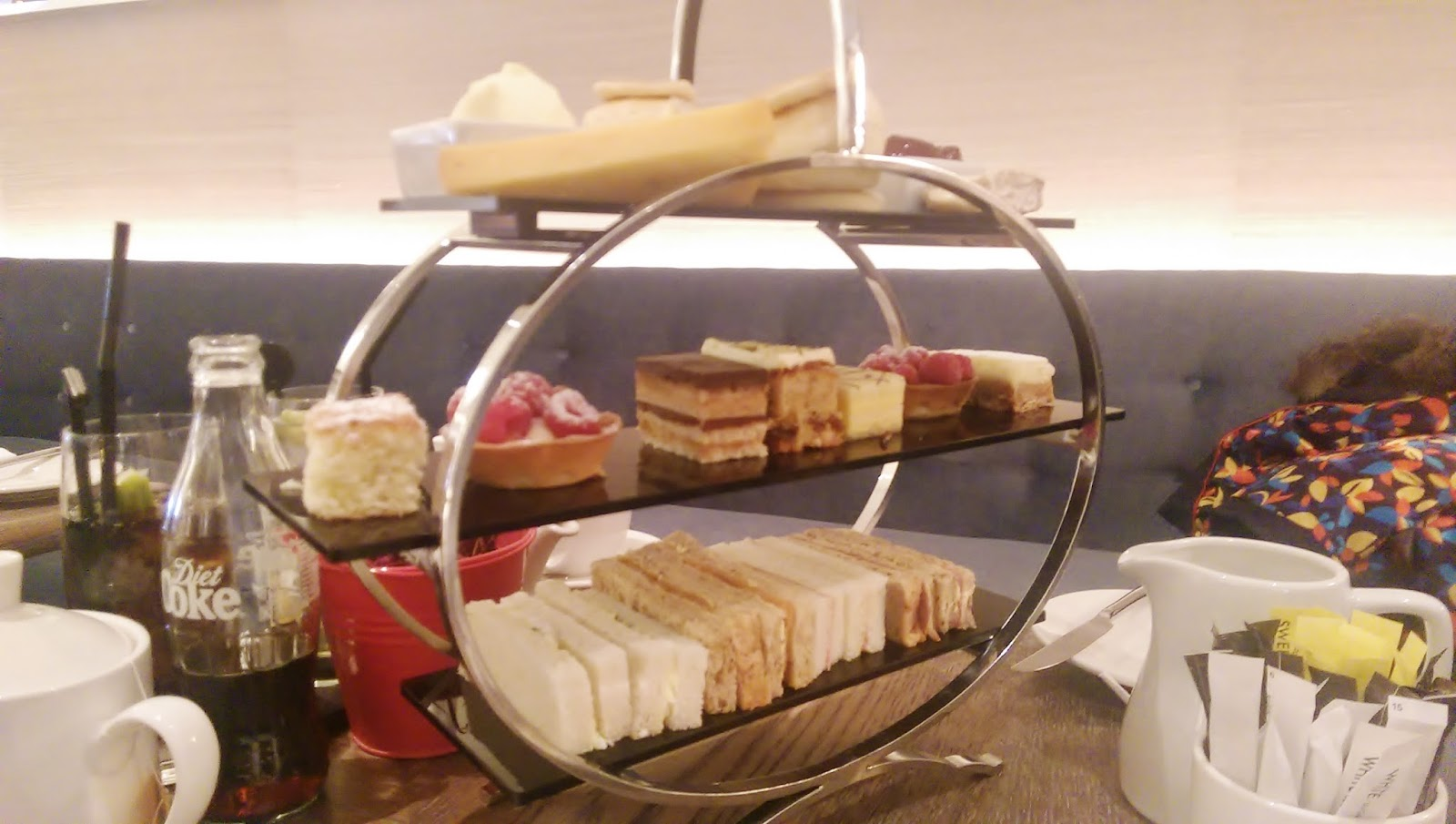 Hilton Glasgow Ti Lounge Afternoon Tea