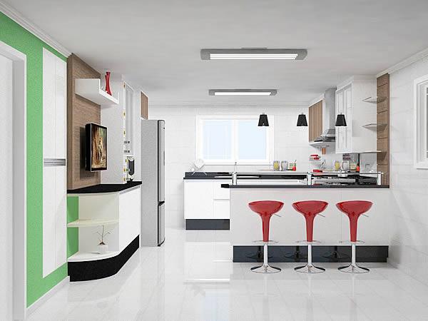 Cozinhas planejadas: Cozinhas sob medida - Lindos modelos