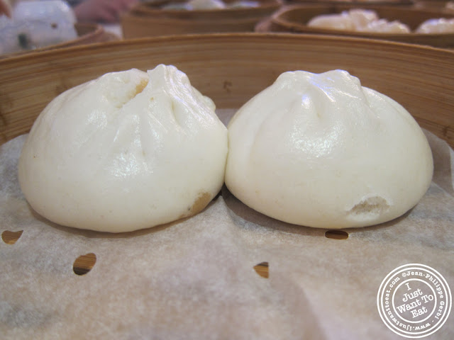 Image of Pork buns at the Golden Unicorn in Chinatown NYC, New York