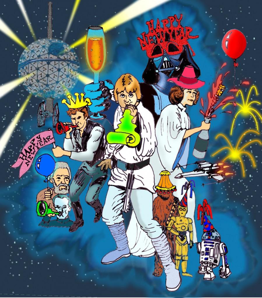 Звездные войны новый год