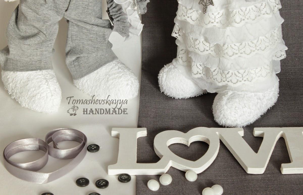 тильда игрушки. любовь