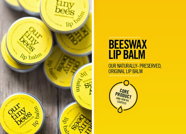 Our Tiny Bees lip balm