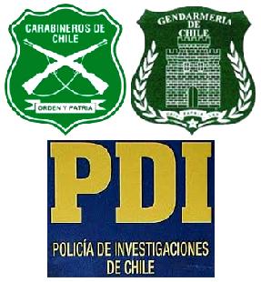 CARABINEROS, POLICÍA Y GENDARMERIA DE CHILE
