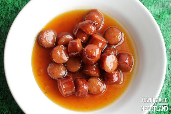 Apricot Kielbasa Bites