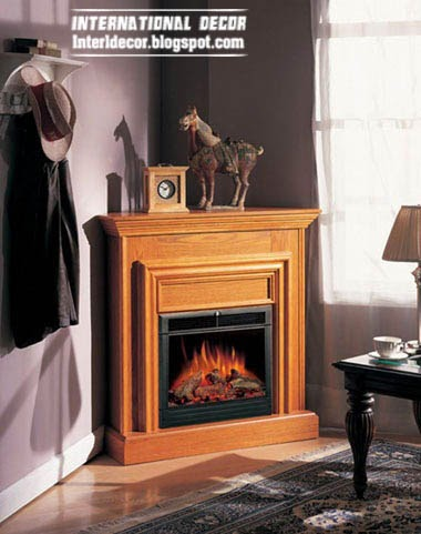 corner fireplace design ideas, classic fireplace, wood fireplace