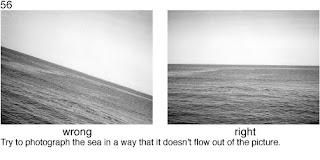 Совет 56. Если вы снимаете море, следите за линией горизонта и положением камеры.