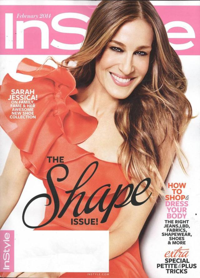 Sarah Jessica Parker en InStyle Magazine