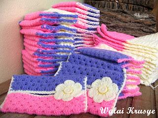 Warna tema, putih, pink & purple ... sweet ♥‿♥