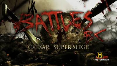 Batallas legendarias - César: El gran asedio