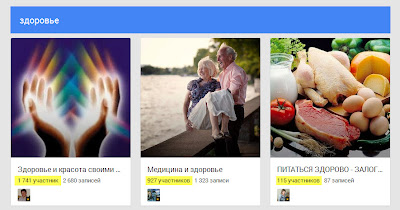 количество участников в сообществе Google плюс