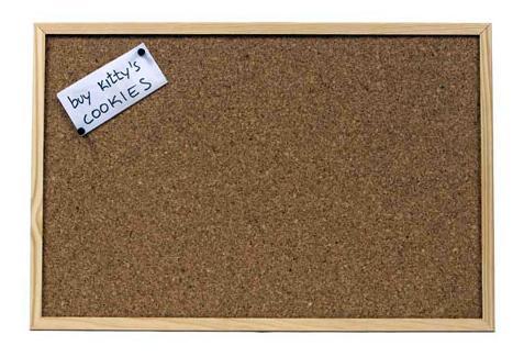 Aguja y taladro corcho de pared personalizado - Placas de corcho para pared ...