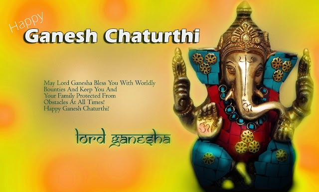 "Ganesh chaturthi greetings messages ""We believe in the healing power of a wish...."