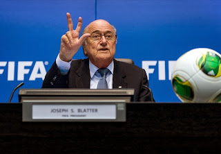 """I'm Sorry"", FIFA President, Sepp Blatter Issues Apology To Real Madrid And Ronaldo Over Messi Comment"