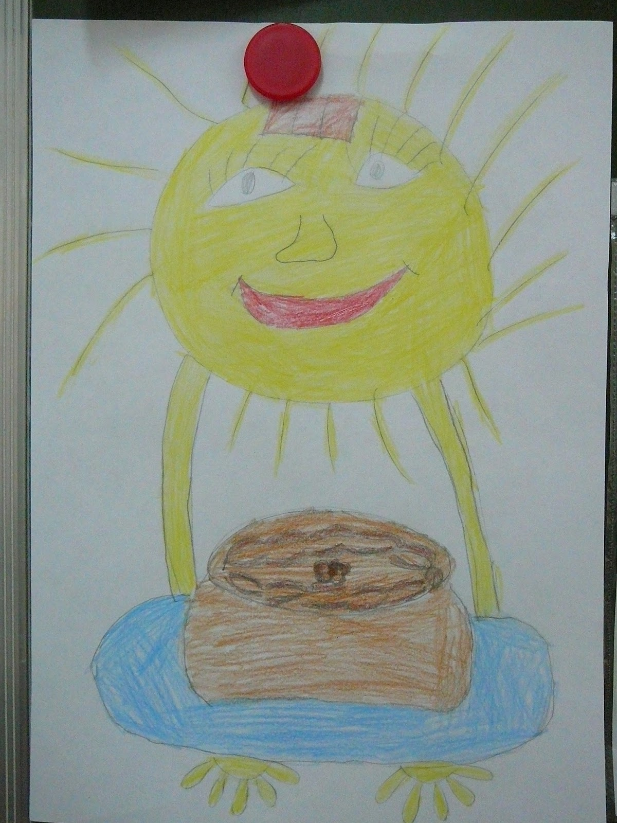 Рисунки на конкурс хлеб всему голова