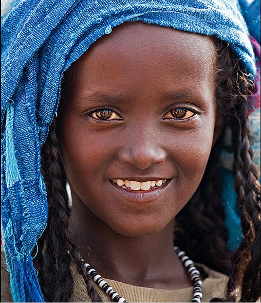 Menina da Eritreia