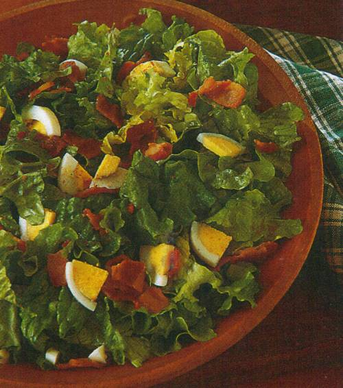 Old Fashioned Wilted Lettuce Recipe