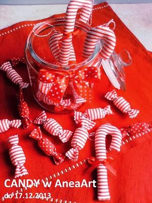 Te piękne cukierki są już moje!
