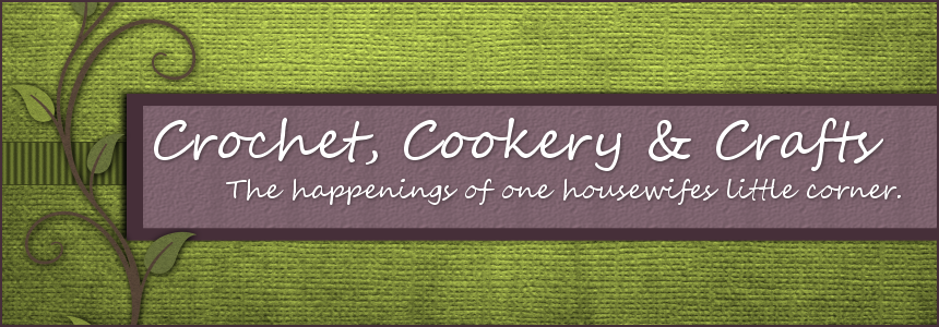 Crochet, Cookery & Crafts