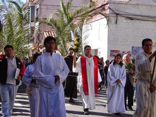 A pesar de los comicios, Tarija celebró el Domingo de Ramos
