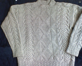 Knitting Patterns Free: aran knitting