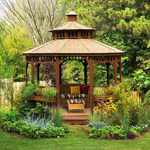 Aleja kwiatowa blog ogrodowy ogrodnik kwiaty altany for Obi gazebo