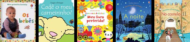 LIVROS INTERATIVOS PARA A PRIMEIRA INFÂNCIA Editora Usborne