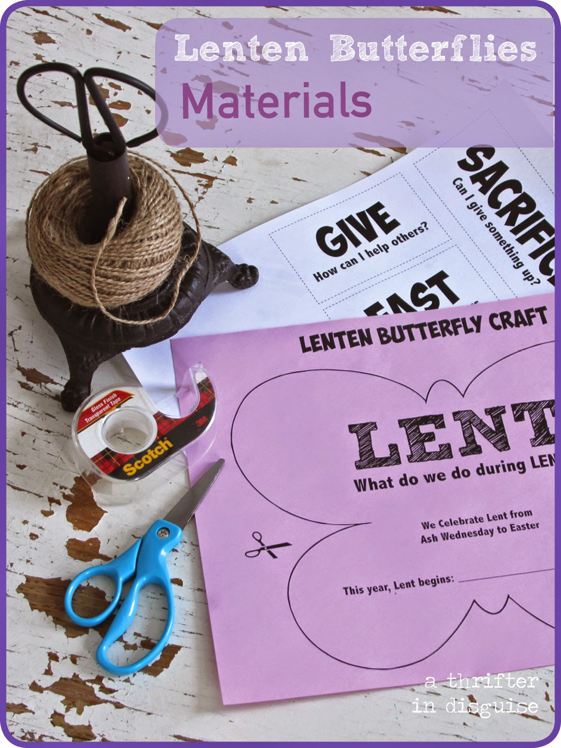 Simple Explanation of Lent for Kids