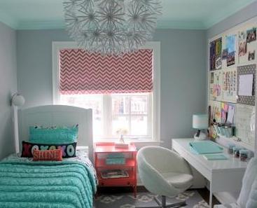 Siempre es primavera dormitorio para ni a - Dormitorios colores claros ...