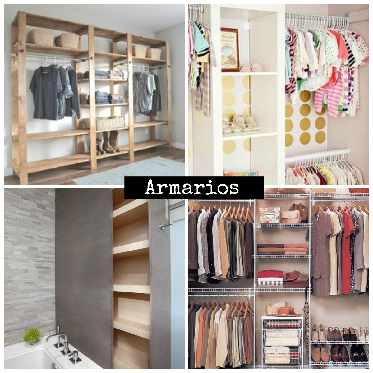 Ideas para estanterias finest ideas creativas y - Armarios infantiles originales ...