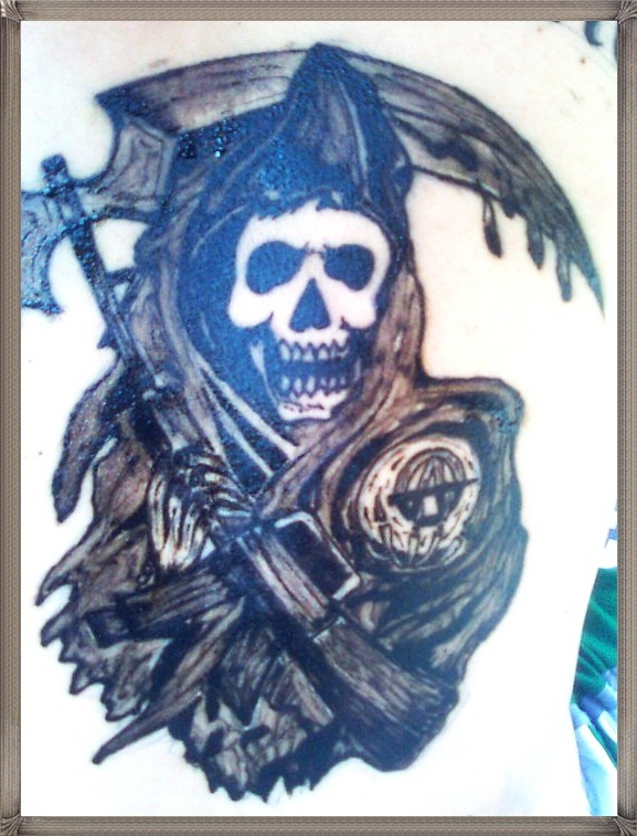 Fashi0nm0t0 sons of anarchy tattoo for Sons of anarchy tattoos