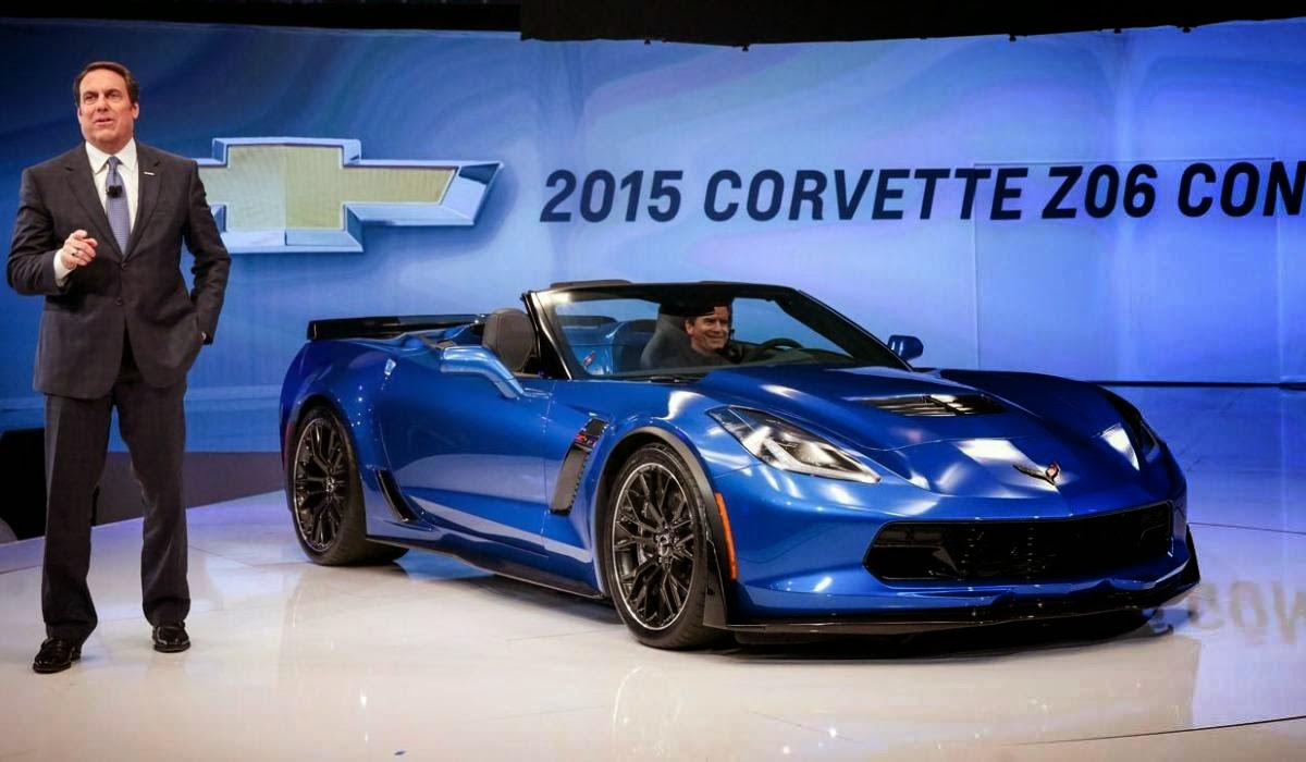 The new concept car chevrolet, chevrolet car landed in the arena sema